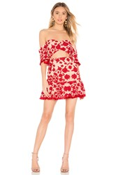 Lovers Friends Halo Mini Dress Red