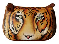 Anuschka 1107 Wild Tiger Coin Purse Blue
