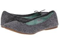 Sanuk Yoga Prima Grey Animal Dot Women's Flat Shoes Gray