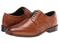 Nunn Bush Nelson Cognac Men's Dress Flat Shoes Tan