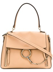 Chloe Faye Day Medium Bag Nude And Neutrals