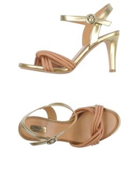 Eva Turner High Heeled Sandals Skin Color