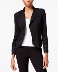 Rachel Roy Military Blazer Black