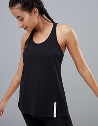 Only Play Wrap Back Tank Top Black