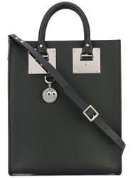 Sophie Hulme Mini Albion Tote Women Leather Polyurethane Metal One Size Black