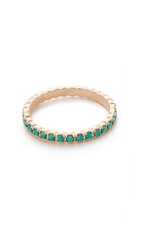 Ginette_Ny Fall Sky Ring Turquoise Rose Gold