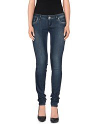 Freesoul Denim Denim Trousers Women Blue