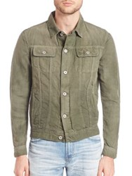 Ag Jeans Dart Cropped Jacket Sunfaded Seagrass