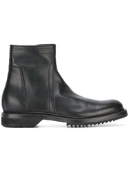 Rick Owens Creeper Boots Black