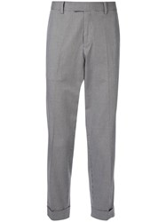 Ck Calvin Klein Houndstooth Trousers Grey