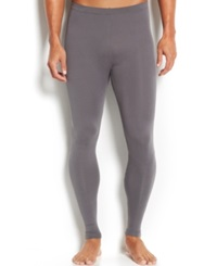 Weatherproof 32 Degrees Cool Athletic Men's Base Layer Pants Charcoal