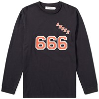 Mr. Completely Anger Long Sleeve Tee Black