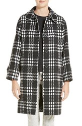 Marc Jacobs Women's Tech Diamond Check Coat