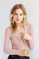 Urban Outfitters Cat Headphones Silver
