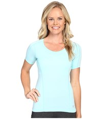Arc'teryx Motus Crew Short Sleeve Vista Women's Clothing Blue