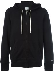 Rag And Bone Rag And Bone Classic Zipped Hoodie Black