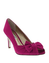 Nina Forbes Satin Pumps Pink
