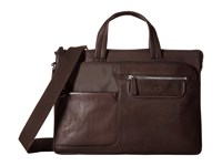 Scully Darren Expandable Workbag Brown Bags