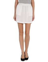 Mauro Grifoni Mini Skirts White