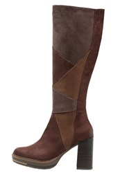 Marco Tozzi High Heeled Boots Cafe Brown