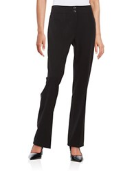 Tahari By Arthur S. Levine Plus Tummy Control Pants Black