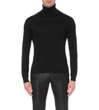 Etro Turtleneck Wool Jumper Nero