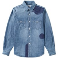 Fdmtl Denim Shirt Blue