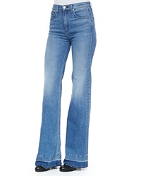 Rag And Bone Rag And Bone Jean The Justine Wide Leg Jeans