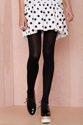 Nasty Gal Leana Tights Black