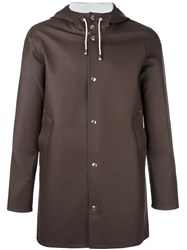 Stutterheim 'Stockholm' Coat Brown