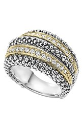 Women's Lagos Diamond Caviar Beaded Ring