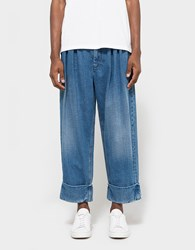 J.W.Anderson Pleat Front Baggy Trouser Indigo