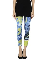 Adidas X Mary Katrantzou Trousers Leggings Women Azure
