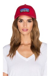 Patagonia P6 Low Profile Trucker Red