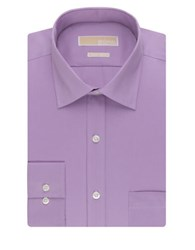 Michael Michael Kors Regular Fit Non Iron Dress Shirt Purple