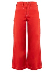 Bliss And Mischief Painter High Waist Flared Jeans