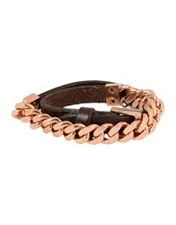 Riccardo Forconi Bracelets Dark Brown