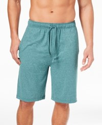 32 Degrees Men's Knit Pajama Shorts Spruce