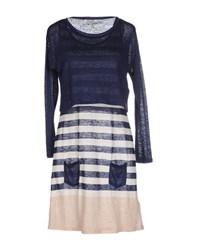 Hoss Intropia Knitwear Twin Sets Women Dark Blue