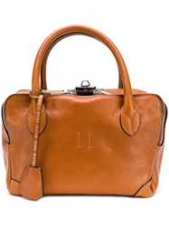 Golden Goose Deluxe Brand Equipage Tote Bag Brown