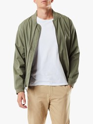 Dockers Washed Twill Bomber Jacket Deep Lichen Green