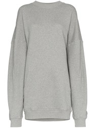Y Project Double Layer Long Sleeve Cotton Hoodie Grey