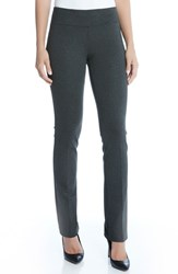 Karen Kane Women's Ponte Knit Pants Dark Heather Grey