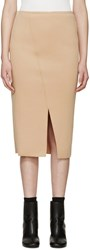 Won Hundred Tan Neoprene Holly Skirt