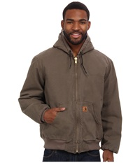 Carhartt Qfl Sandstone Active Jacket Light Brown Men's Coat Tan
