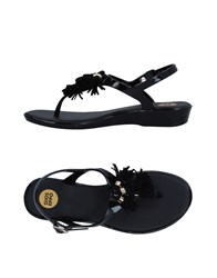 Gioseppo Toe Strap Sandals Black