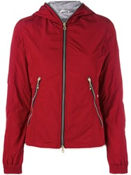 Duvetica Lightweight Quilted Jacket Women Cotton Feather Down Polyamide Feather 44 Red