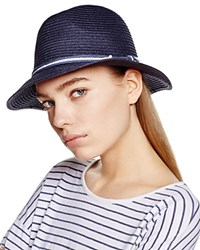 Dorfman Pacific Safari Fedora Navy