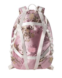 Fenty Puma By Rihanna Floral Jacquard Parachute Backpack Pink Pink Silver