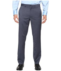 Kenneth Cole Reaction Techni Stretch Pants Blue Men's Dress Pants
